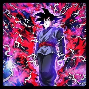 A Future Destroyed Goku Black